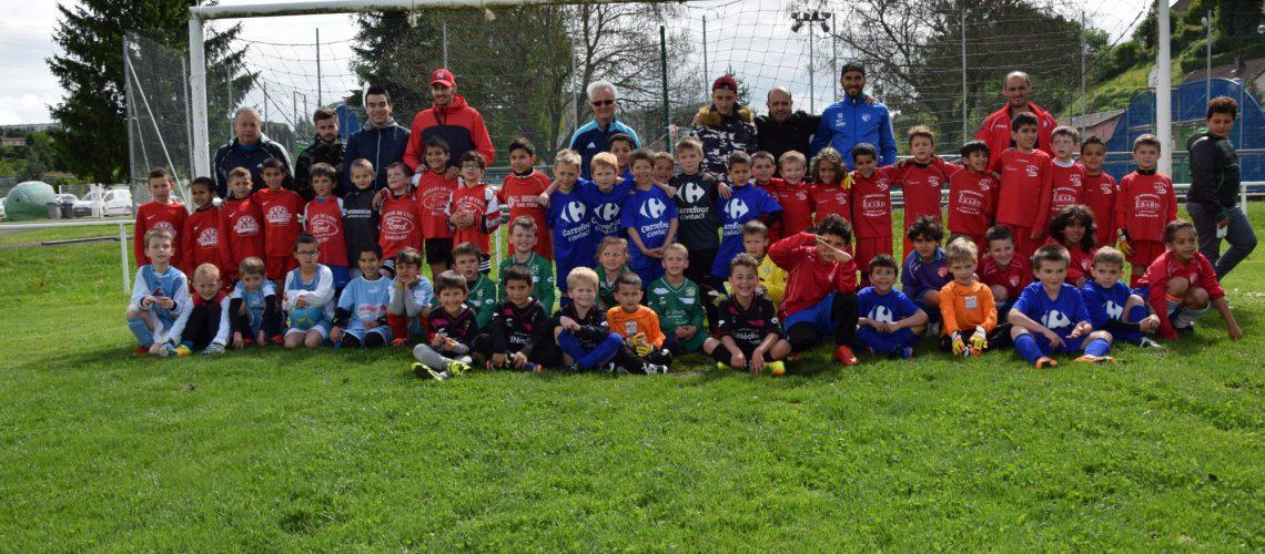 Tournoi des U7 avec le FC Bethoncourt