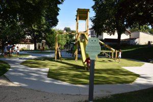 Une ville qui bouge ! Aménagement du parc du Maquis de Montevillers