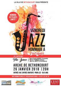 Vendredi Jazz hommage à Chet Baker