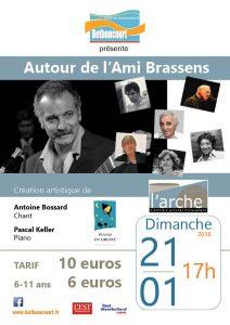 Concert : Autour de l'Ami Brassens