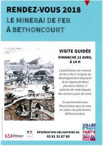 Le minerai de fer à Bethoncourt