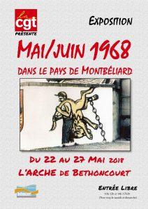 Mai-juin 68 dans le Pays de Montbéliard