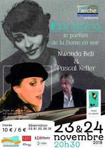 Concert / Barbara le Parfum de la Dame en noir