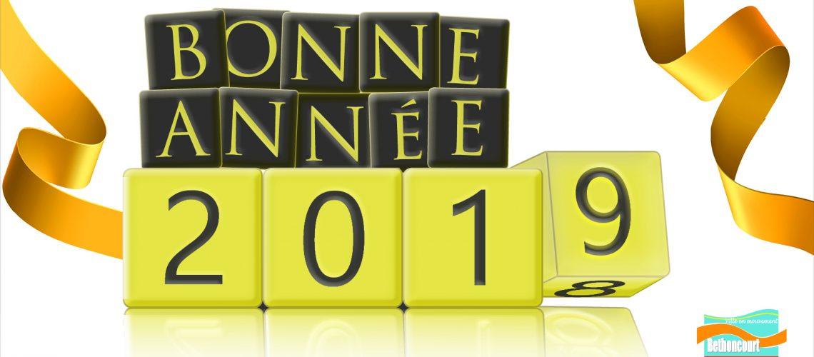 La ville de Bethoncourt vous souhaite une bonne et heureuse année 2019