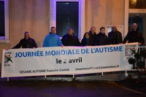 Le soutien de la municipalité dans le cadre de la journée mondiale de l'autisme