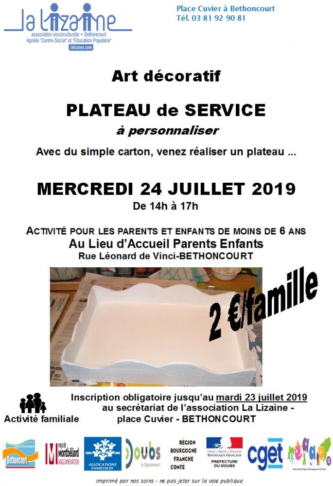 plateau-de-service
