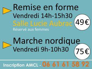 Association AMCL / Marche nordique et remise en forme