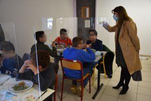 Renforcement des protocoles sanitaires pour la restauration scolaire