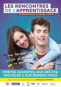 LES RENCONTRES DE L'APPRENTISSAGE 2021 en Bourgogne Franche-Comté