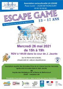 Escape Game (13-17 ans)