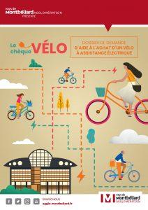 Pays de Montbéliard Agglo : le chèque vélo