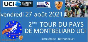 La Ville de Bethoncourt accueille la première étape du 2ème Tour du Pays de Montbéliard le vendredi 27 août.